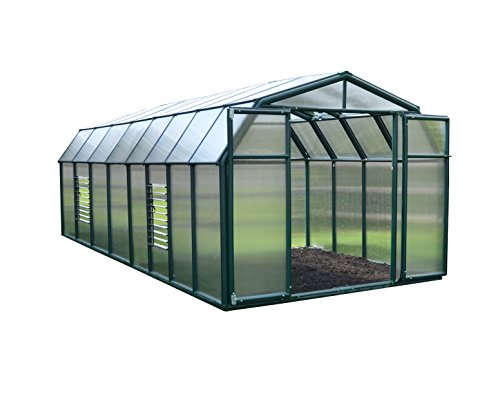 Rion Hobby Gardener 2 Twin Wall Greenhouse, 8' x 16'