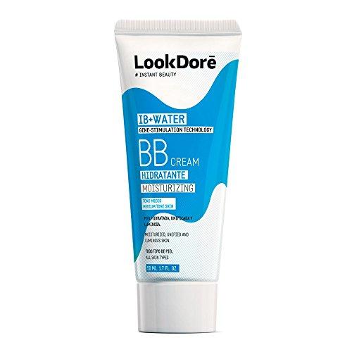 Lookdoré IB+Water BB Cream 50ml   2 en 1 Base de Maquillaje