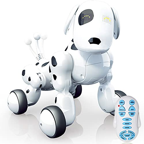 JUGUETECNIC │ Perro Robot interactivo para Niños Buddy │...