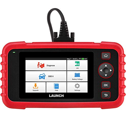 LAUNCH Scan Tool CRP123X OBD2 Scanner Check Engine ABS SRS Transmission Code Reader Car Diagnostic Tool, Android Based Wi-Fi Free Updates, AutoVIN, 5.0 Touchscreen, Upgraded Version of CRP123