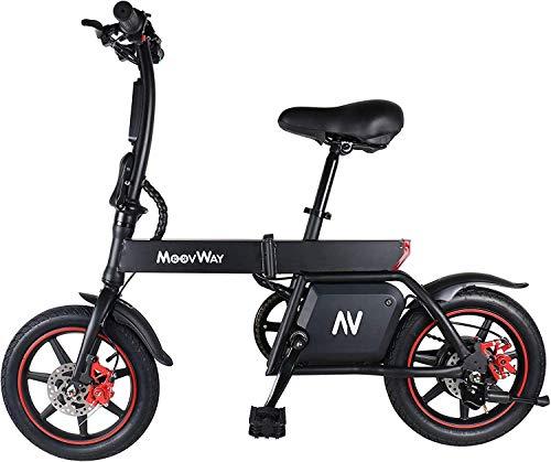 Windgoo Bicicleta Eléctrica Plegables, 350W Motor Bicicleta Plegable...