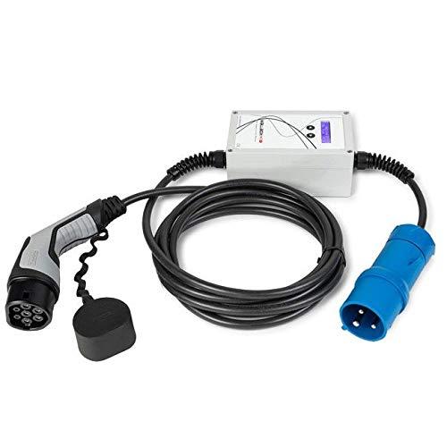 WallboxOk EV Portable Punto Recarga portátil Coches eléctricos Tipo 2 (IEC 62196, Mennekes) CEE. 32A 230V Monofásico