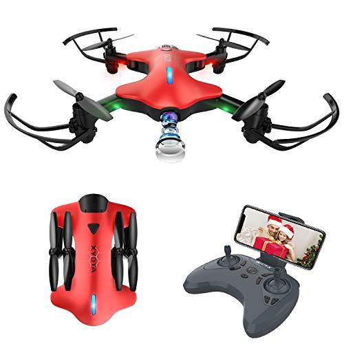 FPV Drone con Telecamera/Videocamera HD 720P WiFi Trasmissione G-sensore modalit Senza Testa Sistema...