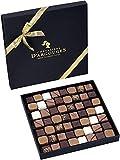 CHEVALIERS D'ARGOUGES Maîtres Chocolatiers Français Assortiment de Chocolats Noir/Lait/Blanc Coffret Cadeau Prestige 560 g