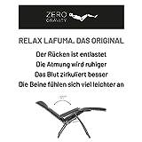Lafuma Relax-Liegestuhl, Klappbar und verstellbar, RSX Clip, Air Comfort, Acier (Anthrazit), LFM2038-8718 - 2