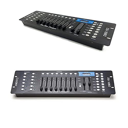 Di Tutto Per Tutti Mixer Luci Apparecchiatura DJ DMX 512   192 Disco Controller Console Illuminazione da palco per faretti a testa mobile Par LED DJ Controller