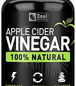 Natural Raw Apple Cider Vinegar Pills (1560mg | 120 Capsules) Vegan, Non-GMO Apple Cider Vinegar with Cayenne Pepper for… 7 - My Weight Loss Today