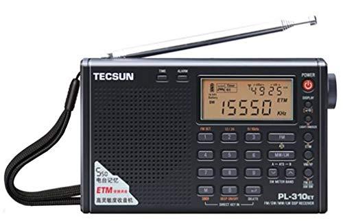 ★新製品★ 短波/AM/FM DSP処理 BCLラジオ TECSUN PL-310ET(ブラック) ★海外短波ラジオ、高感度受信★ 旧PL-3...
