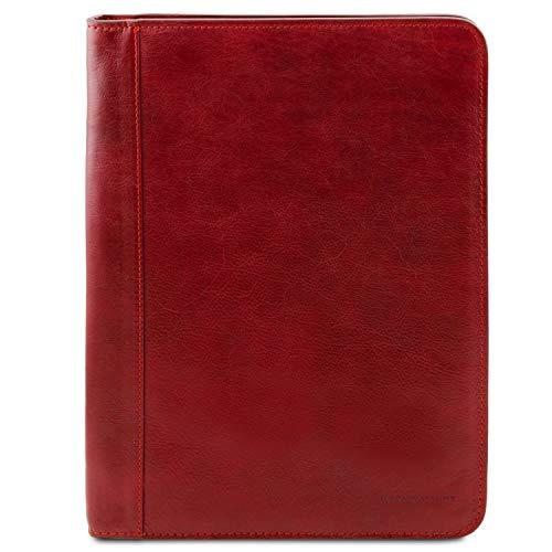 Tuscany Leather - Ottavio - Klassische Dokumentenmappe aus Leder Rot - TL141294/4