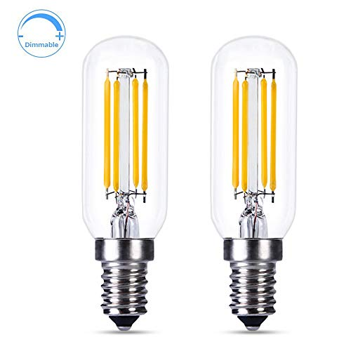 Lampadine E14 LED Dimmerabile per Cappa Cucina, 4W Equivalente a Incandescenza E14 40W, Luce Fredda...