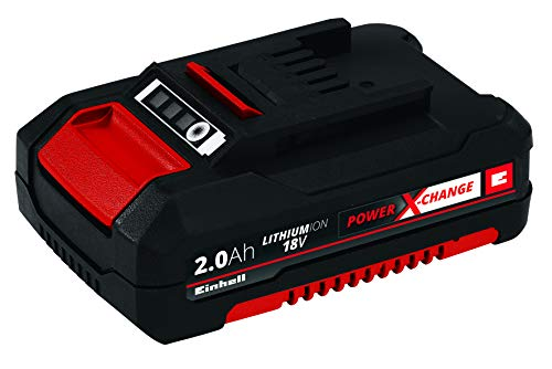 Einhell 45.113.95 Power X-Change Batteria a Ioni di Litio 2.0 Ah, 18 V, Nero, 2,0