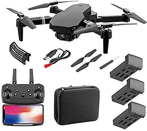 JJDSN 4DRC F4 GPS Drone con videocamera 4K per Adulti Quadcopter con 5GHz FPV Video Live GPS Ritorno a casa Motore Senza spazzole Seguimi 45 Minuti Tempo di Volo Custodia da Trasporto