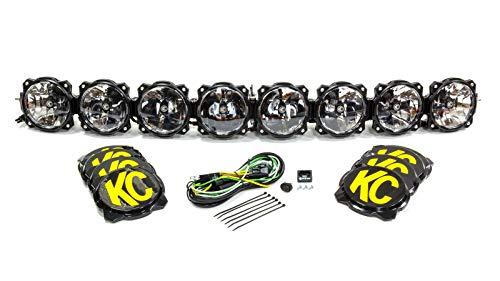 KC HiLiTES 91308 Gravity Pro6 LED Light Bar - 50' Combo System