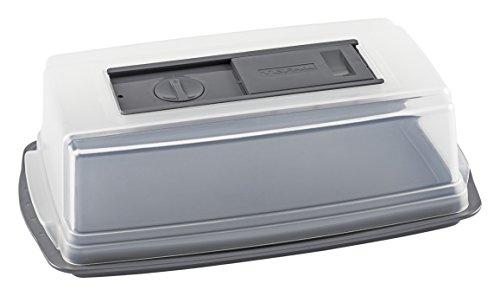 Tefal j3020414Cantinetta per formaggi, plastica, 31x 19x 9cm, 6 filtri - Trasparente
