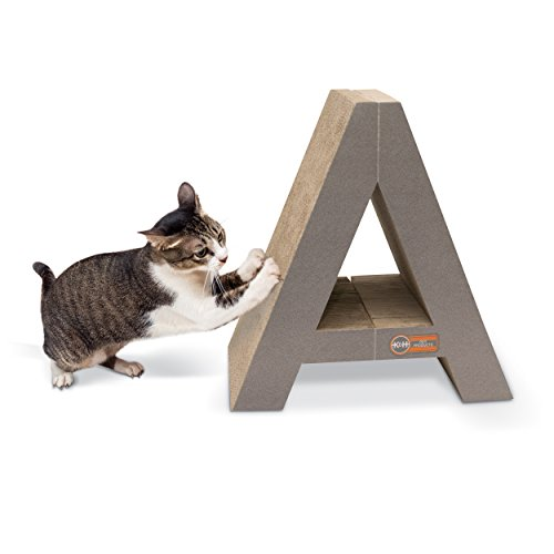 """K&H Pet Products Stretch n' Scratch Cardboard Cat ScratcherToy 9"""" x 14"""" x 15"""""""