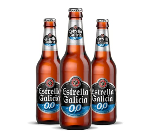 Cerveza Estrella Galicia sin Alcohol, Paquete de 6 x 250ml