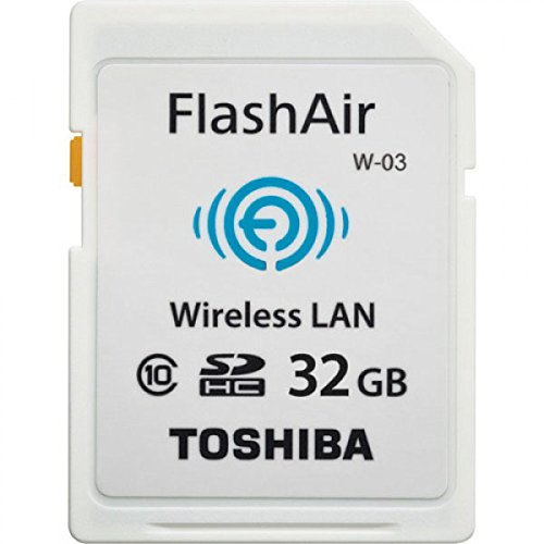 TOSHIBA(東芝) 無線LAN搭載SDHCカード FlashAir W-03 32GB Class10 SD-R032GR7AL03A
