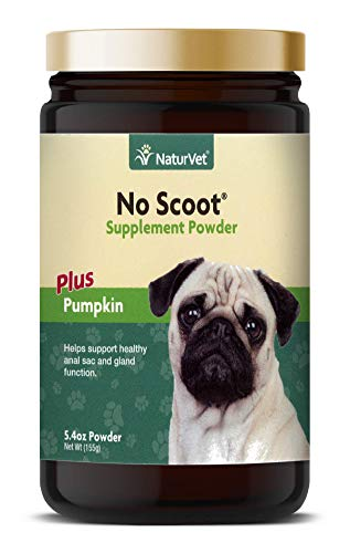NaturVet - No Scoot for Dogs - Plus Pumpkin -...