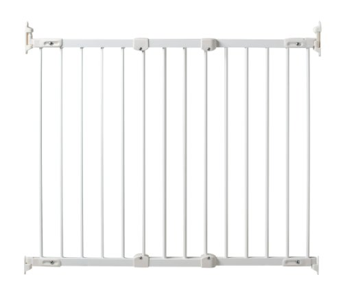 KidCo Angle Mount Safeway Wall Mounted Pet Gate White
