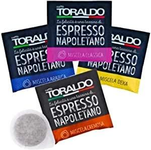 Cialde Toraldo Miste 50 cremoso 50 classica 50 arabica 150pz