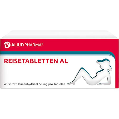 Reisetabletten AL bei Schwindel, Übelkeit und Erbrechen, 20 St. Tabletten