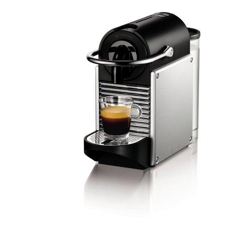 Nespresso Pixie EN125.S Macchina per caffè Espresso di De'Longhi, 1260 W, 1 Cups, Plastica, Argento
