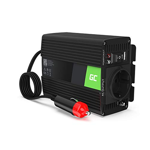 Green Cell® 150W/300W 12V 220V/230V Convertisseur Pur Sinus de Tension Volts Voiture Solaire Power...