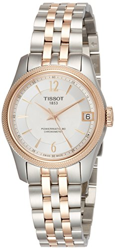 Tissot Damen-Uhren Analog Automatik One Size Edelstahl 87424154