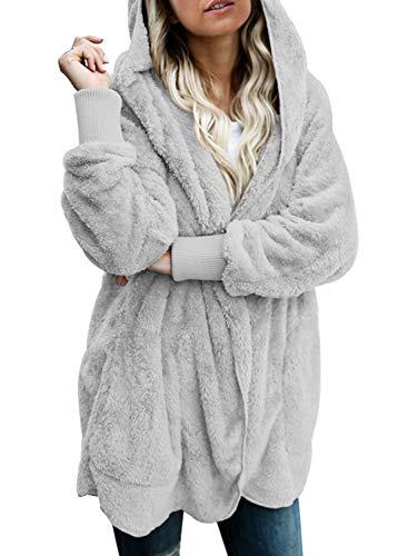 Dokotoo Womens Cozy Ladies Oversized Fuzzy Fluffy...