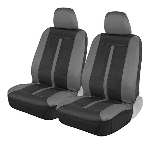 Motor Trend M354 Straight-Line Performance Seat Covers for Car Truck Van SUV Auto - Polyester Protector