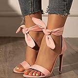 JUSTMAE Sandalias de Mujer de Moda Sandalias de tacón Alto Zapatos de Mujer Peep Toe Stiletto Sexy...