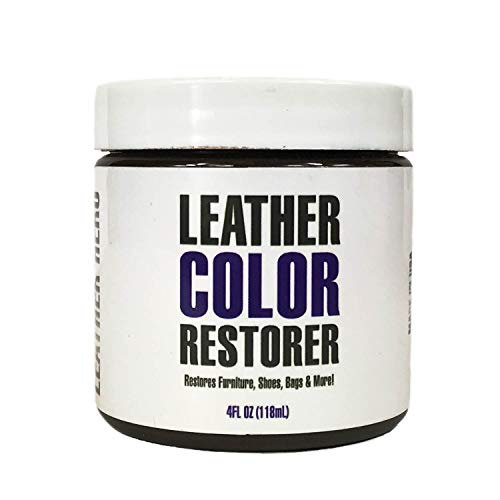 Leather Hero Leather Color Restorer & Applicator- Repair, Recolor, Renew Leather & Vinyl Sofa, Purse, Shoes, Auto Car Seats, Couch-4oz (Burgundy)