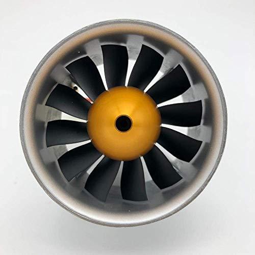 zmigrapddn Ultimo Elica Freewing 90MM Metallo EDF Set 6S 4068-1835 motore inrunner o 4075-1390KV motore inrunner 8S per 90mm rc aereo Drone accessori pezzi di ricambio (colore : E72211 8S 4075 1390)