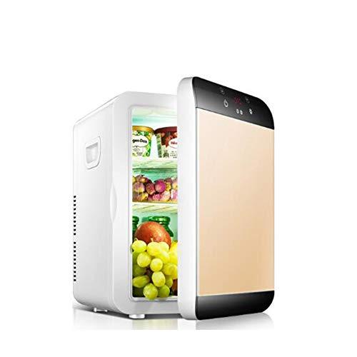 ZKKK Mini frigo Bar con congelatore, Silenzioso, 20L, Compressore e Freezer, Portatile Piccoli...