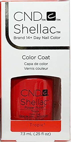 CND Shellac GelColor Nail Polish/Base/Top/Brand New Gel Color #1 - Choose Any 40505- Tropix