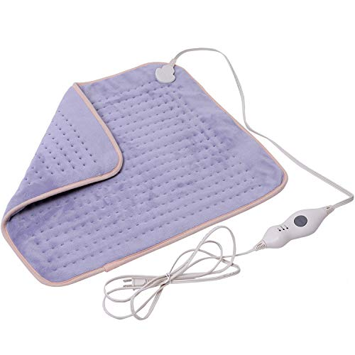 Mosabo Extra XXLarge Electric Heating Pads for Back Pain and Cramps Relief 20' x 24' Ultra-Soft Plug in Heat Pad with Auto Shut Off Machine Washable and Moist & Dry Heat Therapy Options