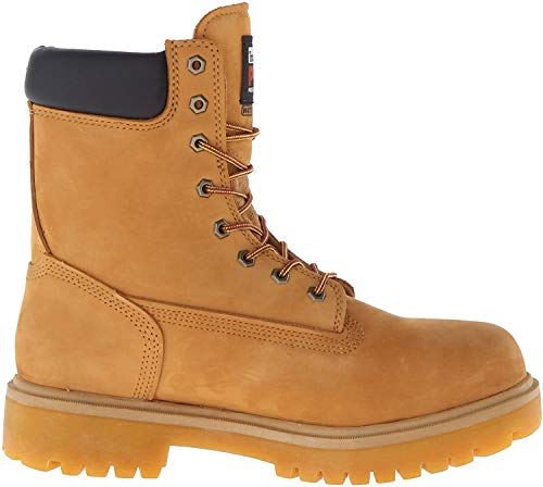 Timberland PRO Men's Direct Attach 8' Steel Toe Boot,Wheat,9 M