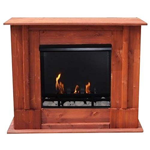 Kaminbau Mierzwa ( df-shopping ) Ethanol and Gel Fireplace Model Rafael Cherry