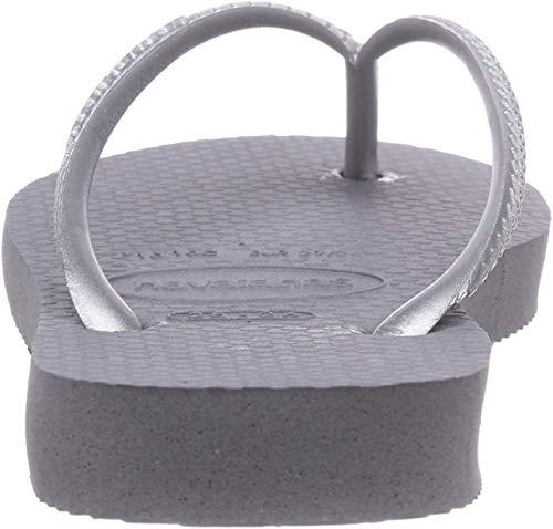 Havaianas Slim 4000030 Infradito Donna, Grigio (Steel Grey), 39/40 EU