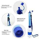 Onewell Filtre à eau extérieur, paille de filtre à eau, élimine les bactéries et les...
