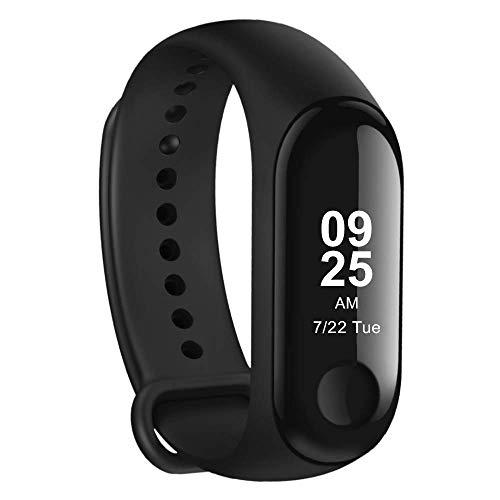 Xiaomi Mi Band 3 - Activity tracker mit Herzfrequenzmessung [EU Version], 0.78'' full OLED Touchscreen, Benachrichtigungen in Echtzeit,  wasserdicht 50m, Schrittzähler, Kalorienzähler, Schlafanalyse