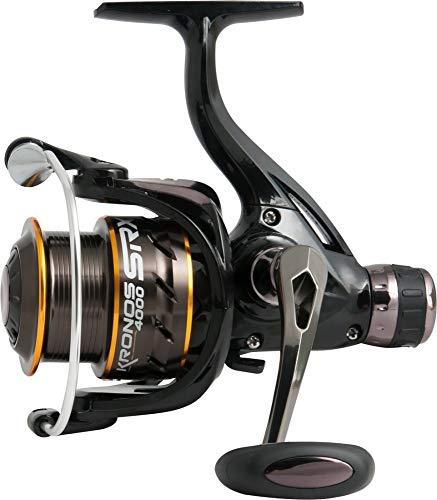 Trabucco Mulinello da Pesca Kronos SRX 2000 con Frizione Posteriore Precisa e Potente da Mare Lago e Fiume per Spinning Bolognese Feeder Pesca A Fondo Trota Lago Leggero e Affidabile