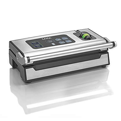 Laica VT3240 XPro Maxi Kit Sottovuoto Composto da 1 Macchina per Sottovuoto Professionale, 2 Rotoli per Sottovuoto 28x600 cm e 1 Confezione da 100 Sacchetti