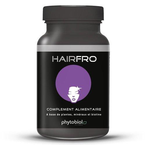 HairFro  - 1er Accélérateur de Pousse pour Cheveux Frisés, Crépus et Secs - 100 Capsules