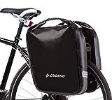 Cicli Bonin Crosso Lateral Waterproof Sacs Mixte, Noir, 29 x 16 x 44 cm/60 Litre