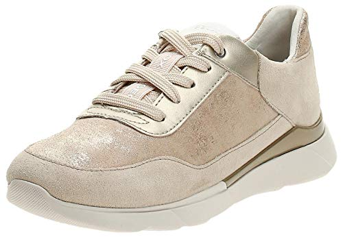 Geox D Sandal Hiver A, Zapatillas Mujer, Beige (Sand C5004), 37 EU