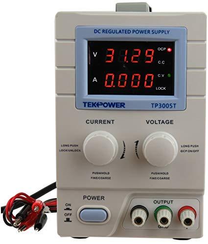 Tekpower TP3005T Variable Linear DC Power Supply, 0 - 30V @...