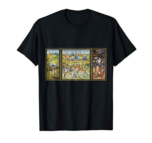 The Garden Of Earthly Delights Hieronymus Bosch Camiseta