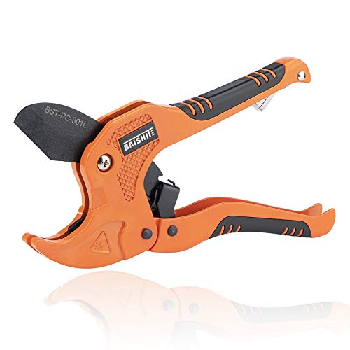 BAiSHITE PVC Pipe Cutter, High Performance Teflon blade Made...