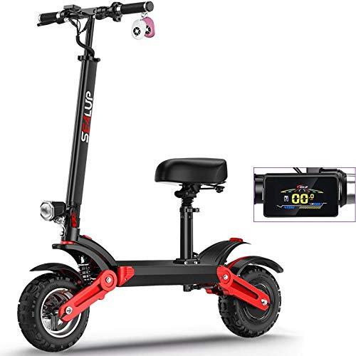 Scooter elettrico per adulti, monopattino pieghevole, faro a LED, motore 3C forzato da 500 W,...